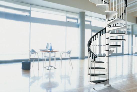 Funkcionalnost spiralnih stopnic