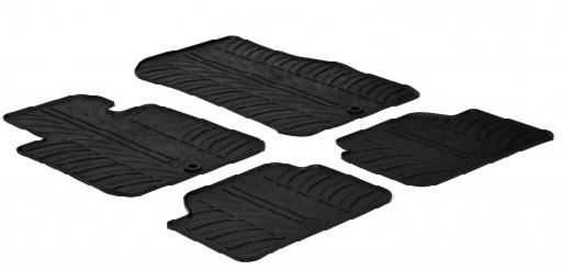 Gumi tepihi za udobje in čistočo v avtu