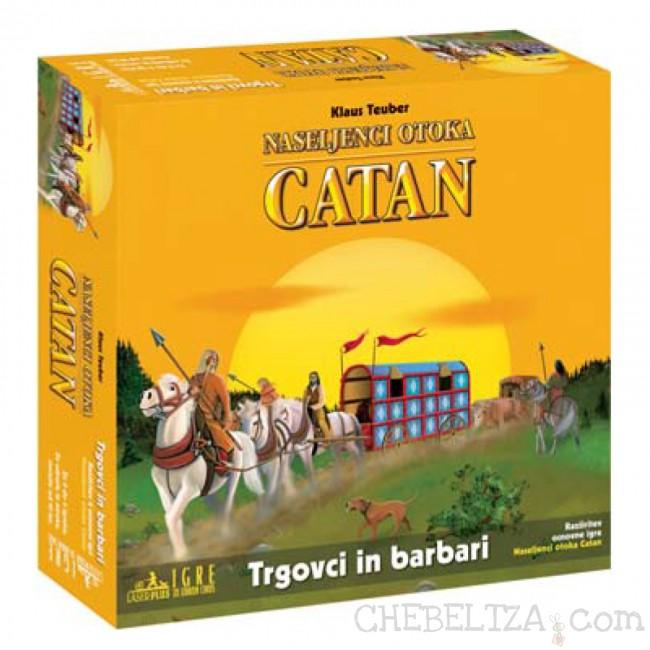 Popularna strateška družabna igra Naseljenci otoka Catan